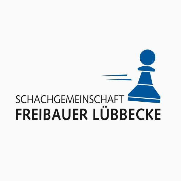 Logo Schachgemeinschaft Freibauer Lübbecke made by marketinghaltig