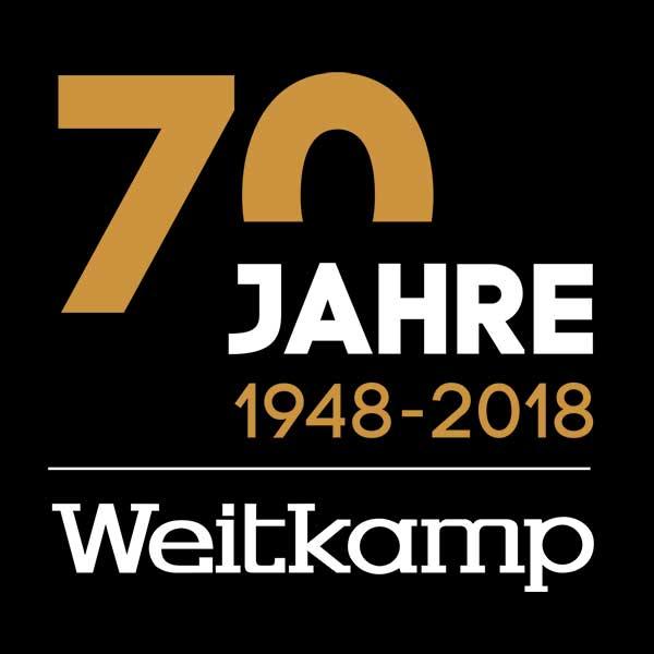 Logo 70 Jahre Autohaus Weitkamp