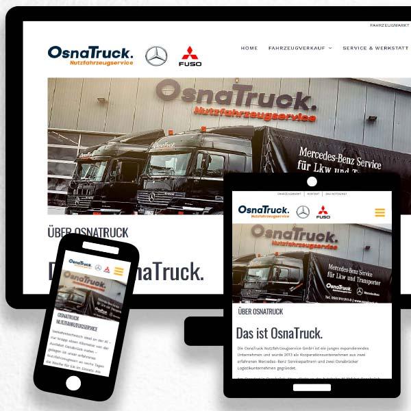 Webseite www.osnatruck.de