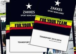 Teamsport Flyer Zakkes Sport Borchard